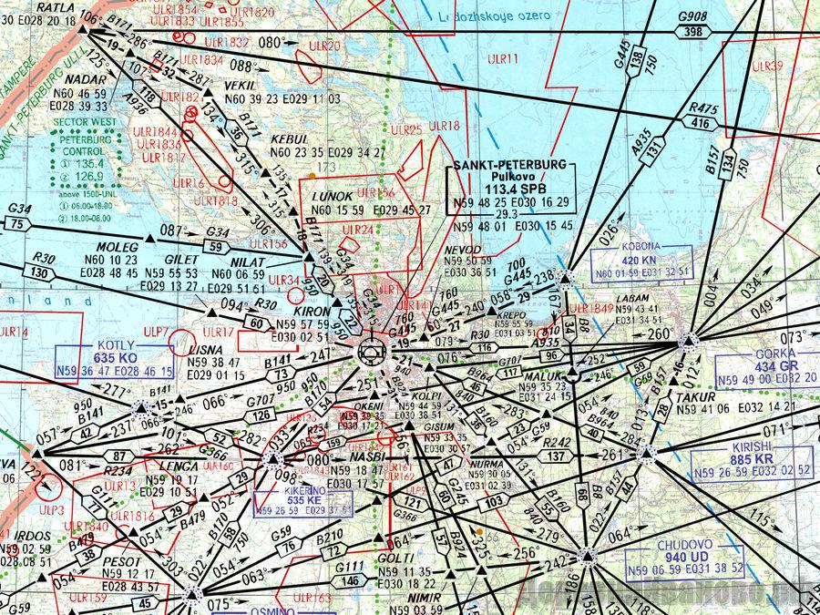 Радионавигационная карта